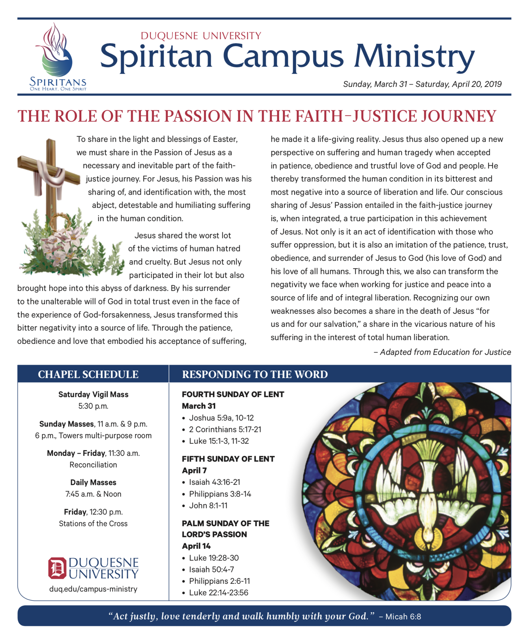 Bi-Weekly Bulletin | Duquesne University