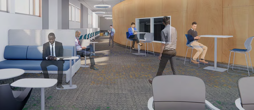 Rendering of the proposed College of Osteopathic Medicine
