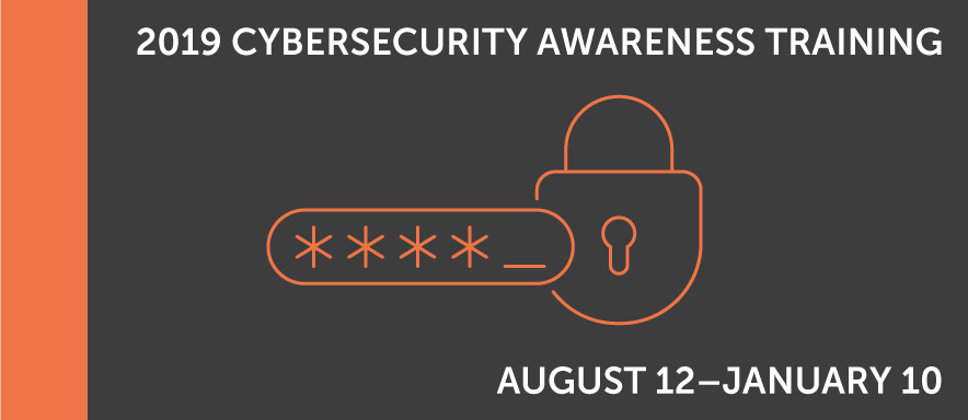 Cybersecurity Awareness Training Graphic