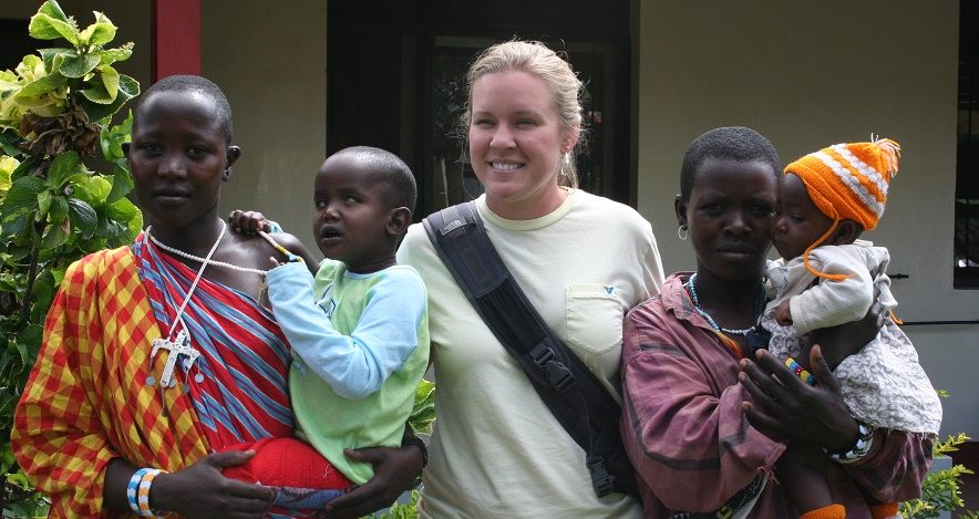 Study Abroad Student in Africa