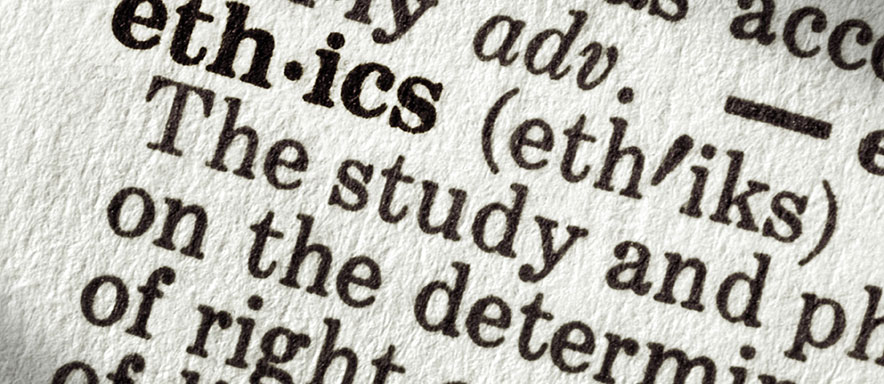 The word ethics in the dictionary