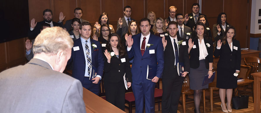 2019 Bar Exam Passage ceremony