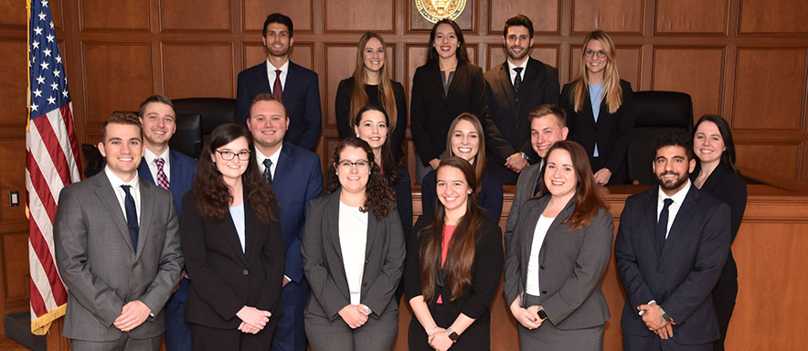 2019 and 2020 Appellate Moot Court Members