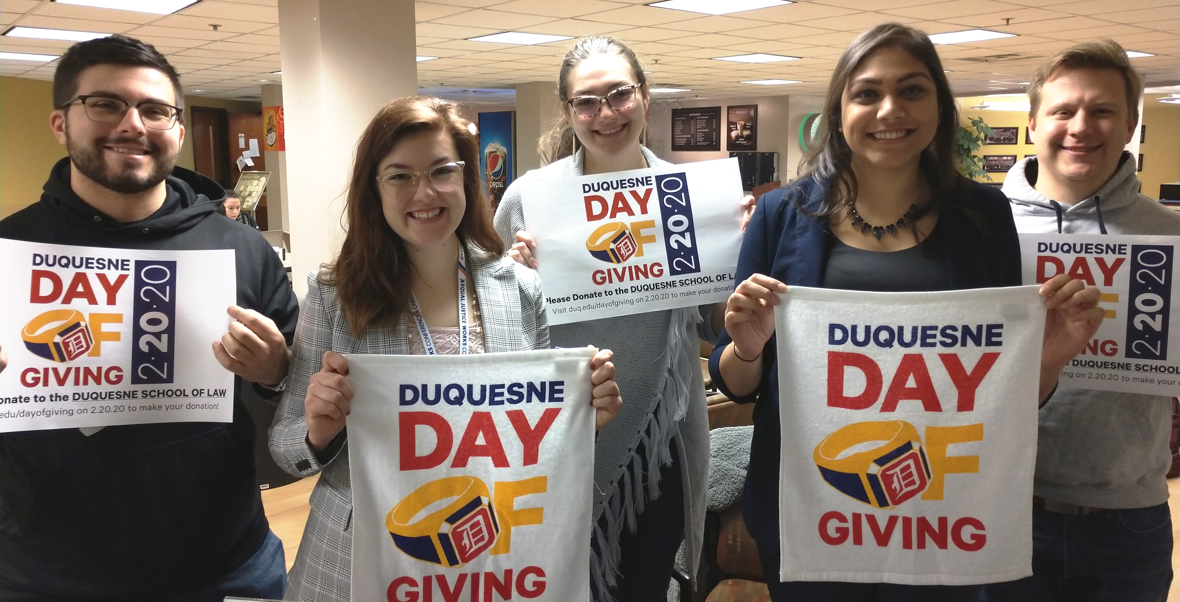 Duquesne Day of Giving students