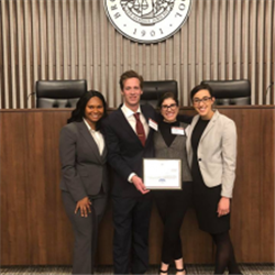 Appellate Moot Court Winners 2018