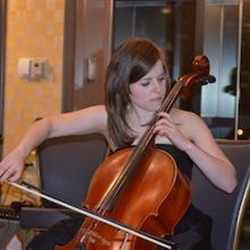 Ginvera Playing Cello