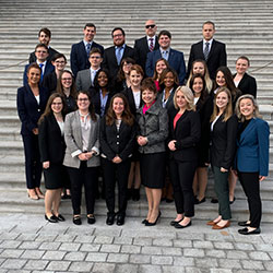 Law students on capitol hill