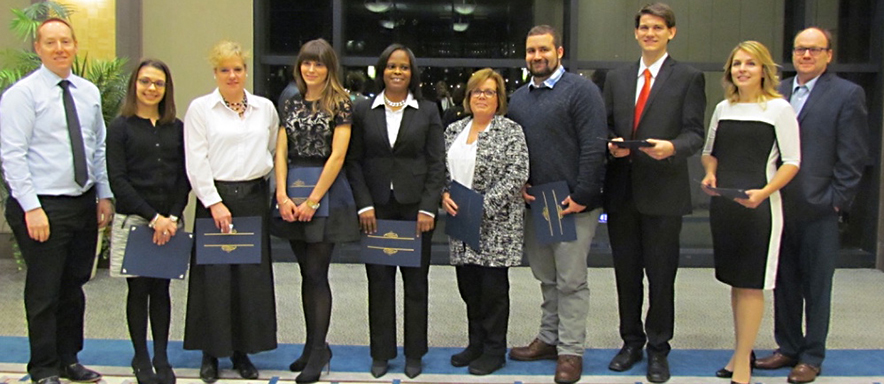 Photograph of the Paralegal Graduation Class 2015