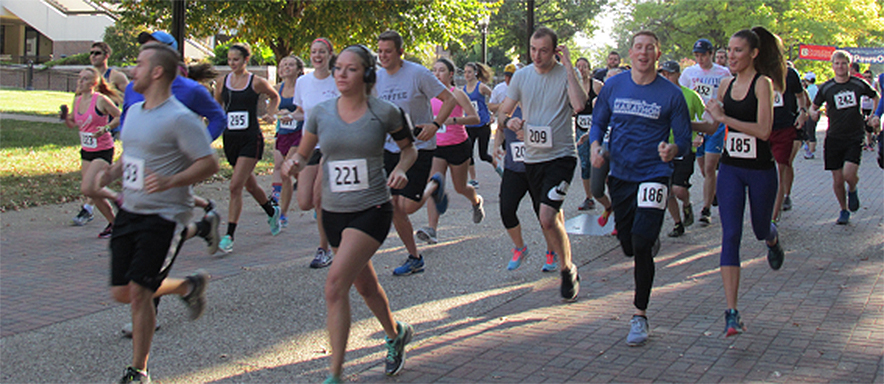 photo of runners at 5k event