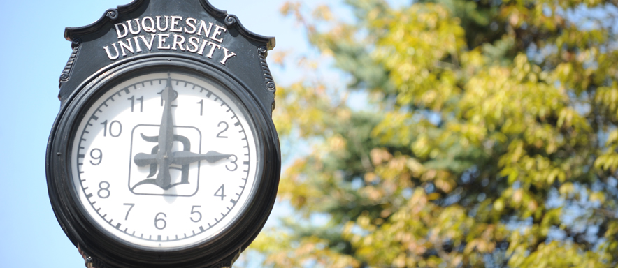 Photo of Duquesne clock