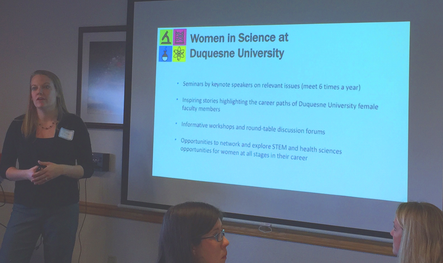 Dr. O'Donnell presents an overview of WIS@DU
