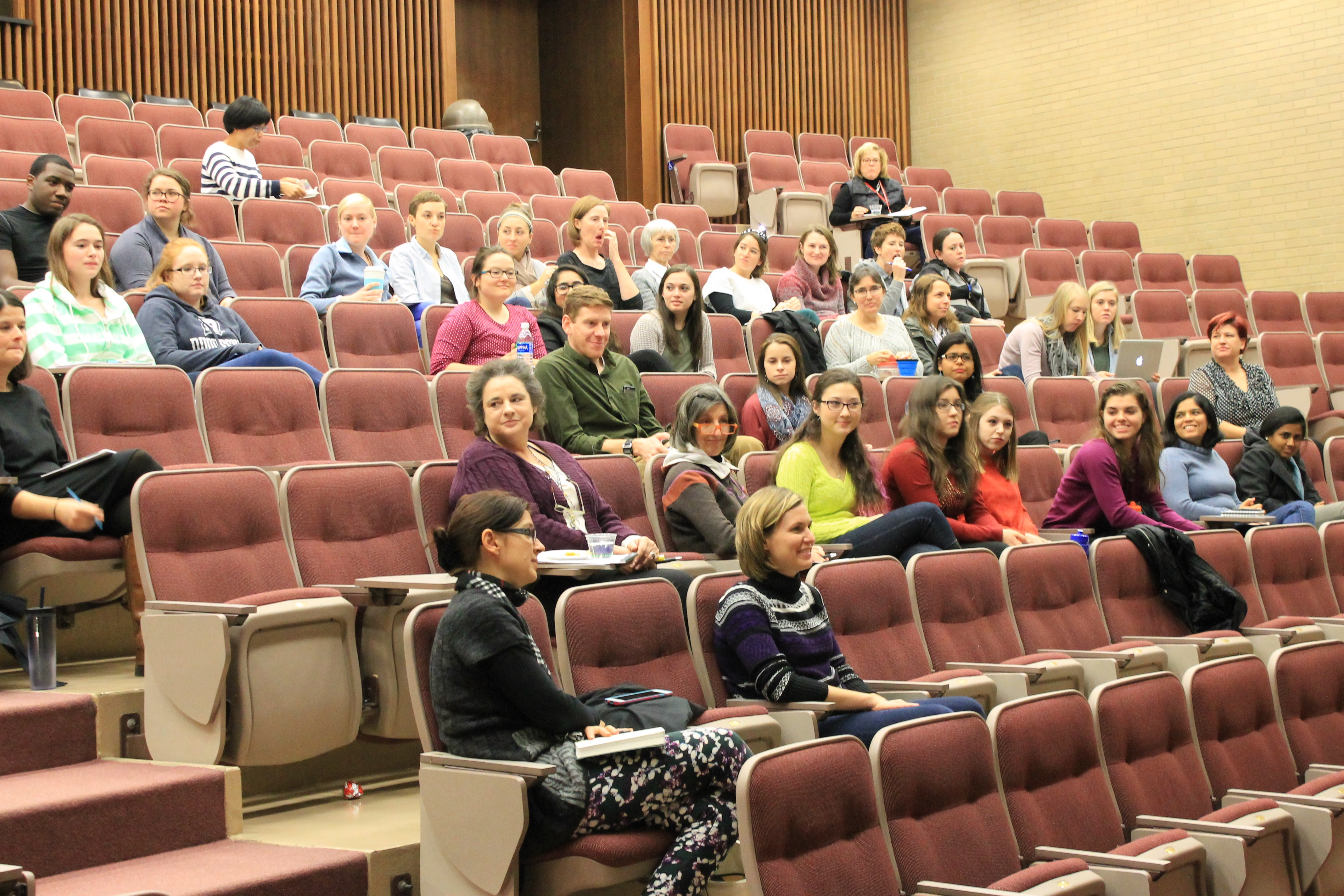 Workshop participants learned the skills of negotiating and the value of speaking up for yourself.