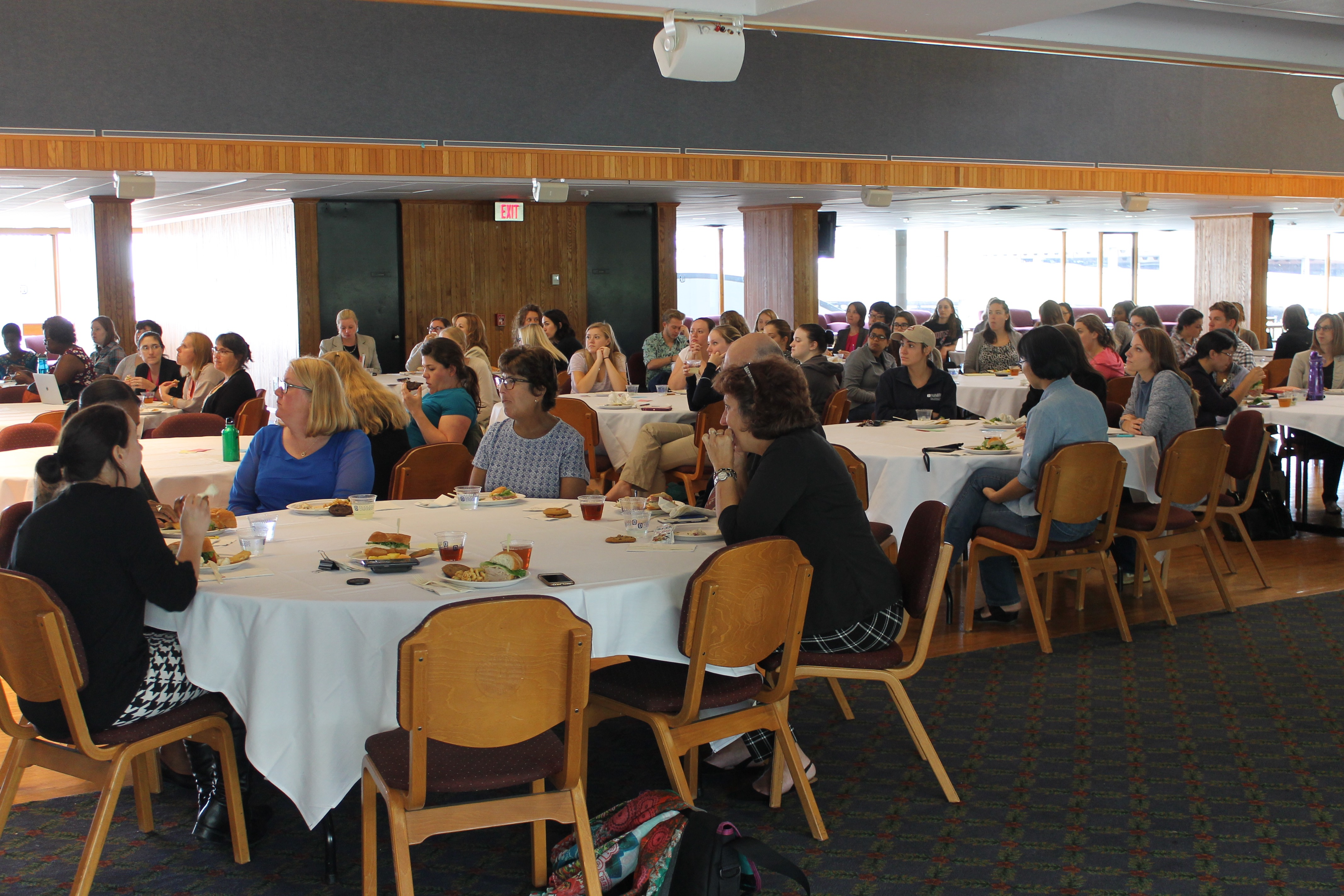 Approximately 75 students and faculty attended Dr. Mary Munson's talk.