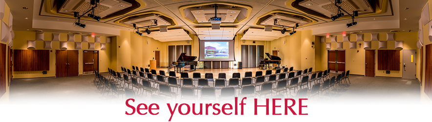Congratulations on your acceptance to the Mary Pappert School of Music! Now, See Yourself HERE...