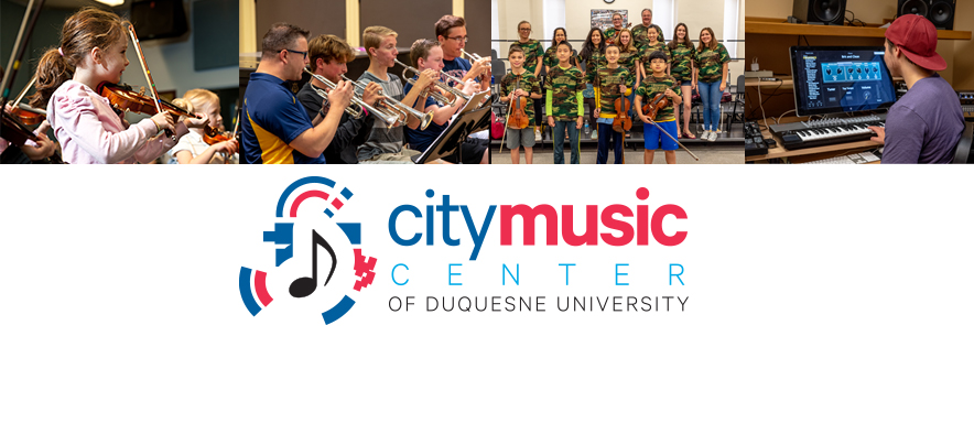 city music center of duquesne university photo montage