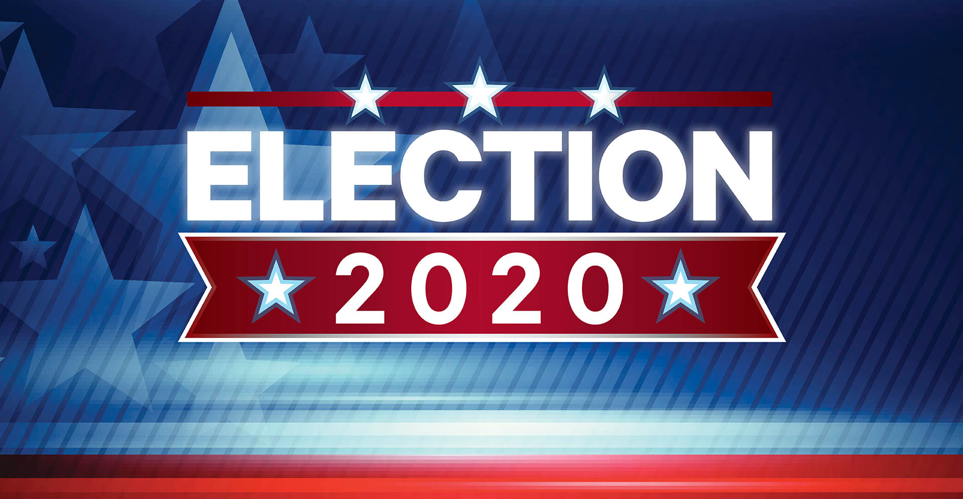 election 2020 web graphic