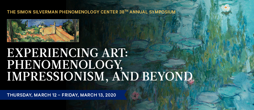 SSPC 38th Annual Symposium: Experiencing Art: Phenomenology Center's 38th Annual Symposium