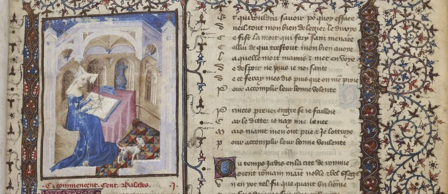 from a manuscript of Christine de Pizan