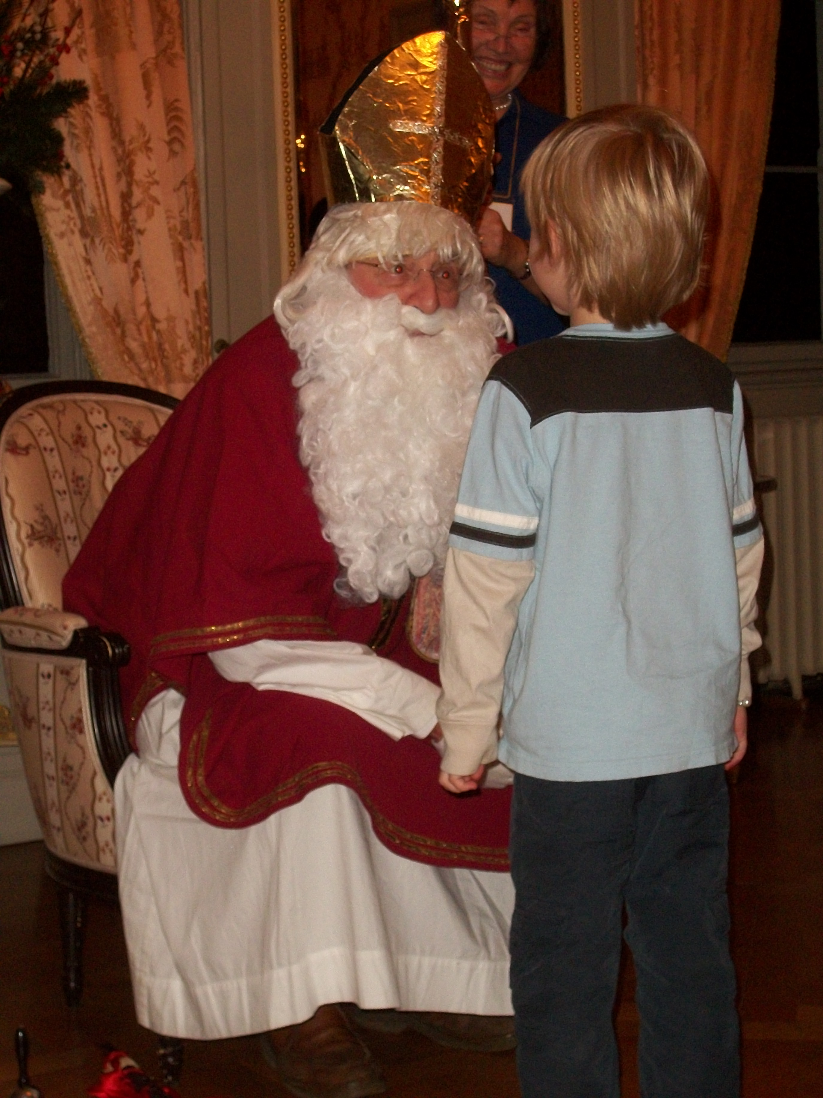 A visit with St. Niklaus--December 2015