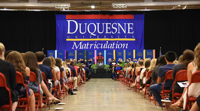 Fall 2018 Matriculation Ceremony