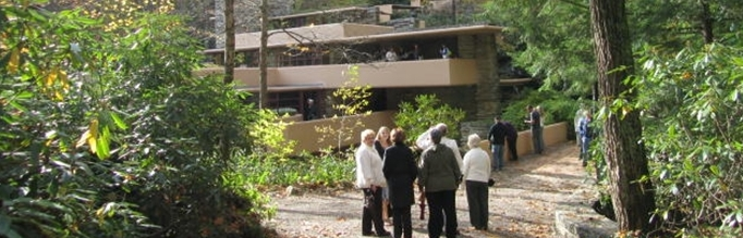 Retirees at Falling Water