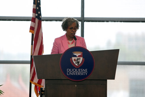 Dr. Gloria Ladson-Billings, seminal author of culturally relevant teaching.