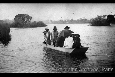 Angola, about 1920. On the Cubango River.