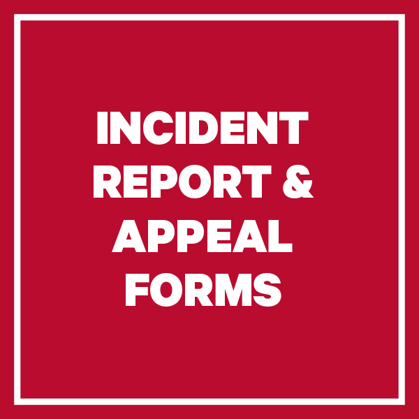 Incident Reporting and Appeal Forms