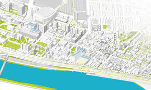 design map of planned EcoInnovation District