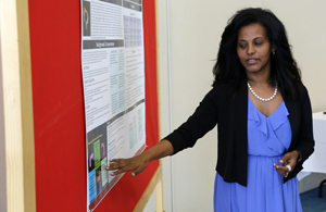 Education Professor Waganesh Zeleke