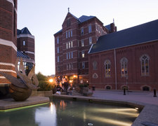 old main with fountain