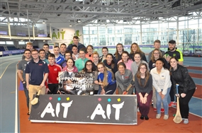 DUQ athletic training students & AIT athletic rehabilitation therapy students
