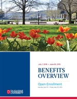 2018-2019 Benefits Booklet Image