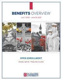 Benefits Workbook for 2020-2021 plan year