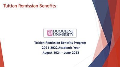 Tuition remission powerpoint slides
