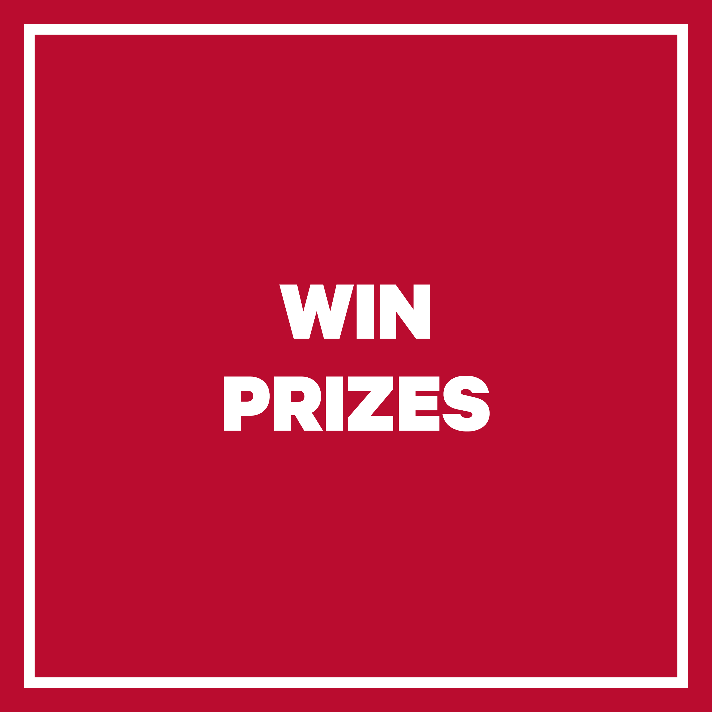 Win Prizes on Wednesday