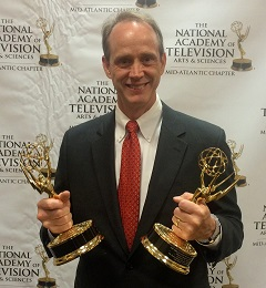 Dr. John Pollock wins two Emmy Awards