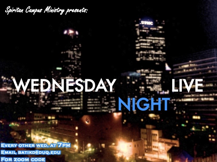 Wednesday Night Live City Graphic