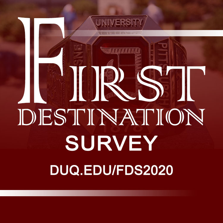 First Destination Survey Image