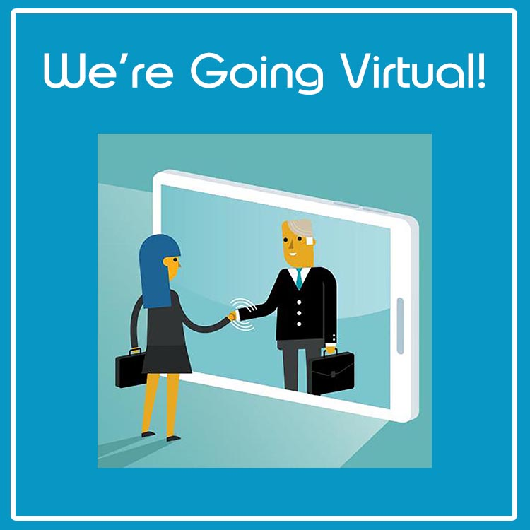 We're Going Virtual Graphic