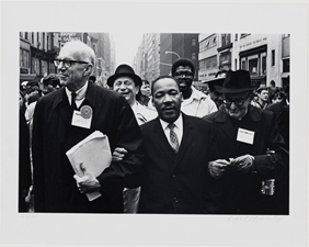 Msg. Rice with Rev. Martin Luther King