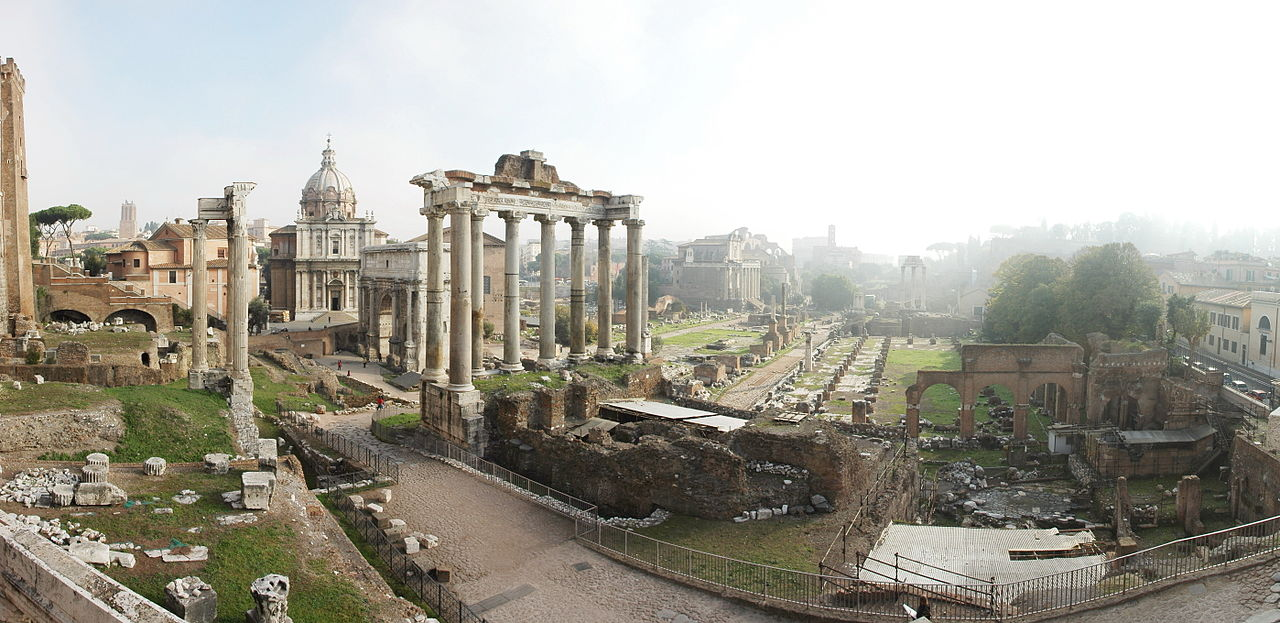 Rome's forum-sized