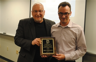 Brian Peiritsch Honored for contributions to the Profession