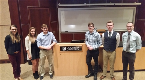 Undergraduate Students Participate in Business & Professional Contest
