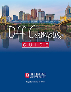 cover of 2021 off-campus guide