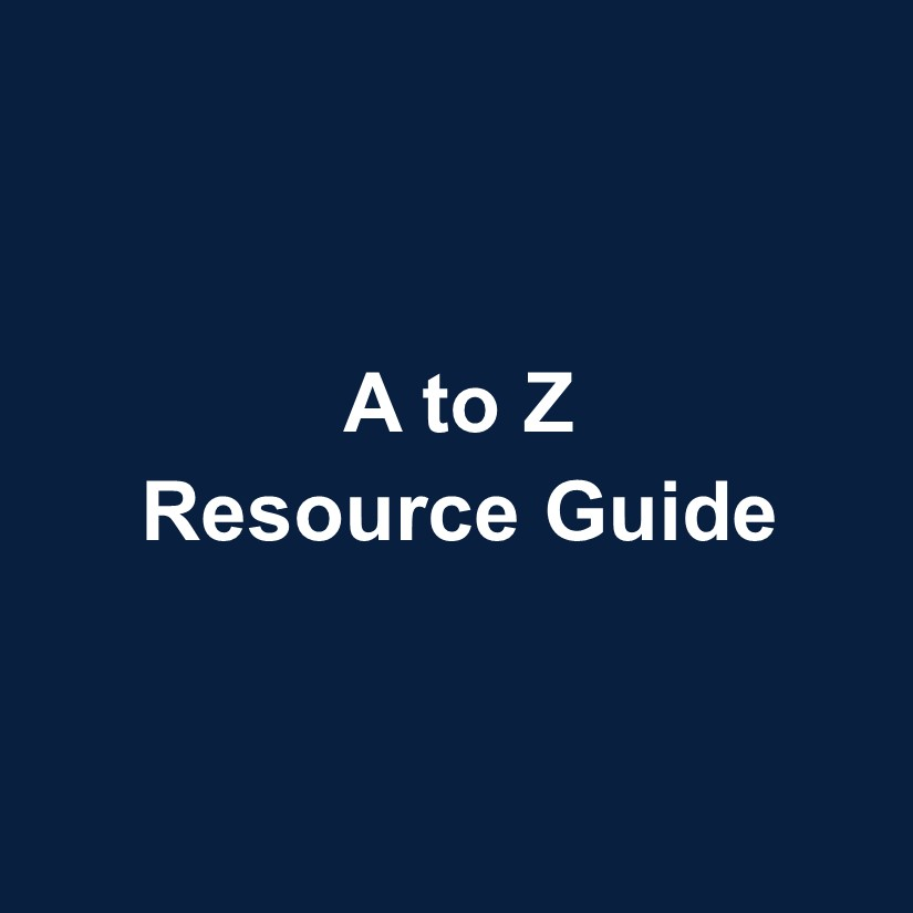 A to Z Resource Guide