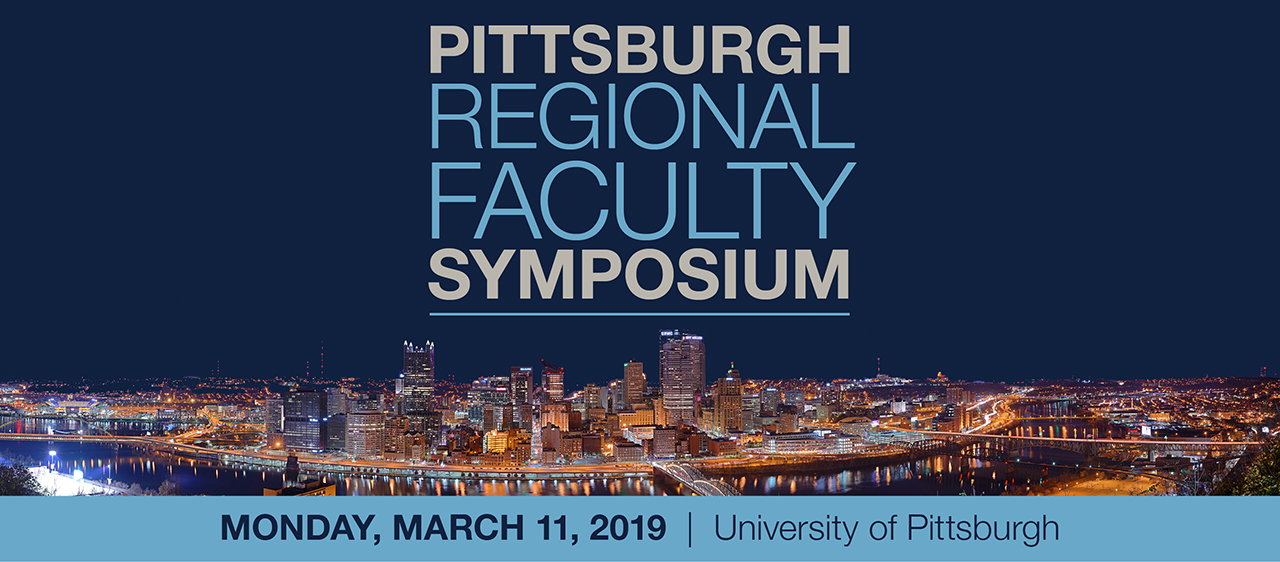 2019 Symposium Logo with Pittsburgh City Skyline