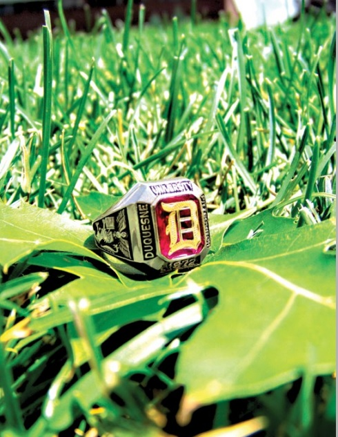 Duquesne Ring in Grass