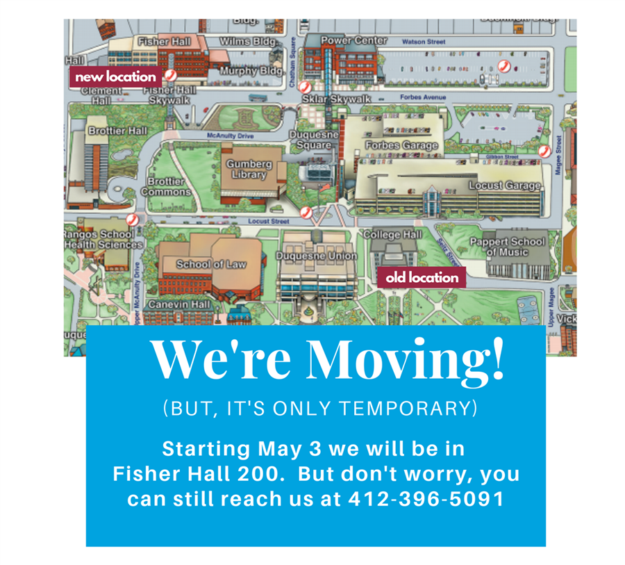 We're moving map