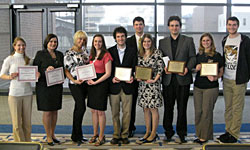 AAFS 2011 award winners